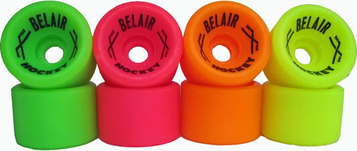 Belair Hockey quad skate wheels
