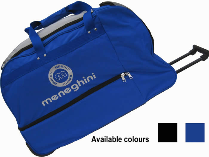 meneghini players wheeled bag