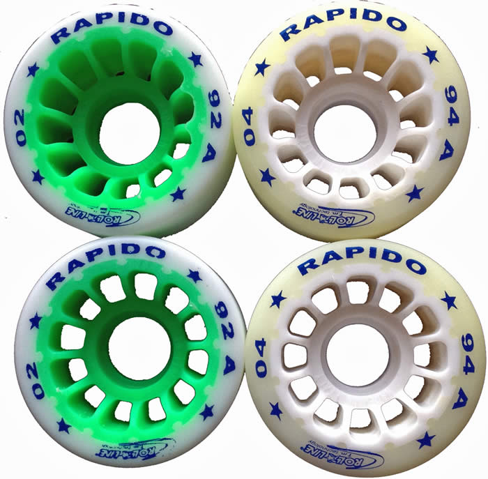 Roll Line Rapido skate wheels