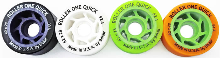 Roller One/Belair Quick quad skate wheels